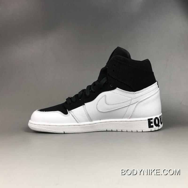 Super Deals Air Jordan 1 Retro High 'Equality' BlackWhite Metallic Gold