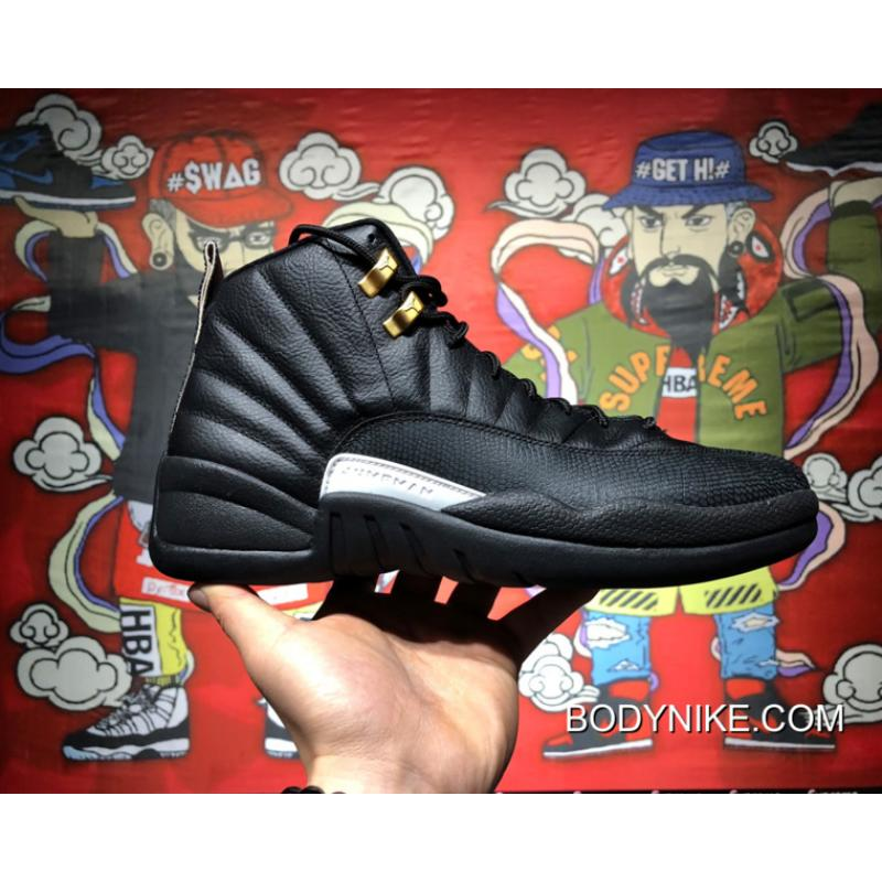 3e06f3e7b93 Air Jordan 12 'The Master' Black/Rattan-White-Metallic Gold Top ...