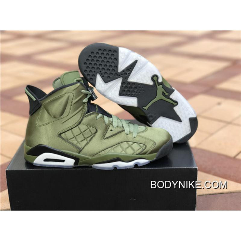 "1f1c06f9c44baf ... Free Shipping Air Jordan 6 Pinnacle ""Saturday Night Live"" Palm Green Palm  Green ..."