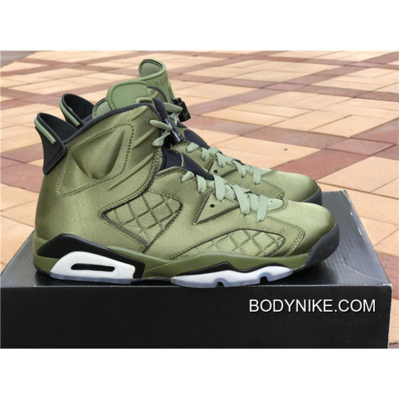 "baaebc73c41f8b ... Free Shipping Air Jordan 6 Pinnacle ""Saturday Night Live"" Palm Green Palm  Green"