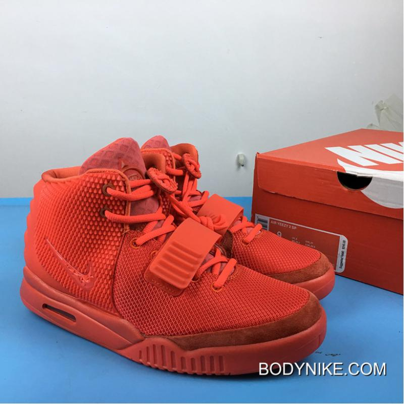 Latest Nike Air Yeezy 2 SP Red October