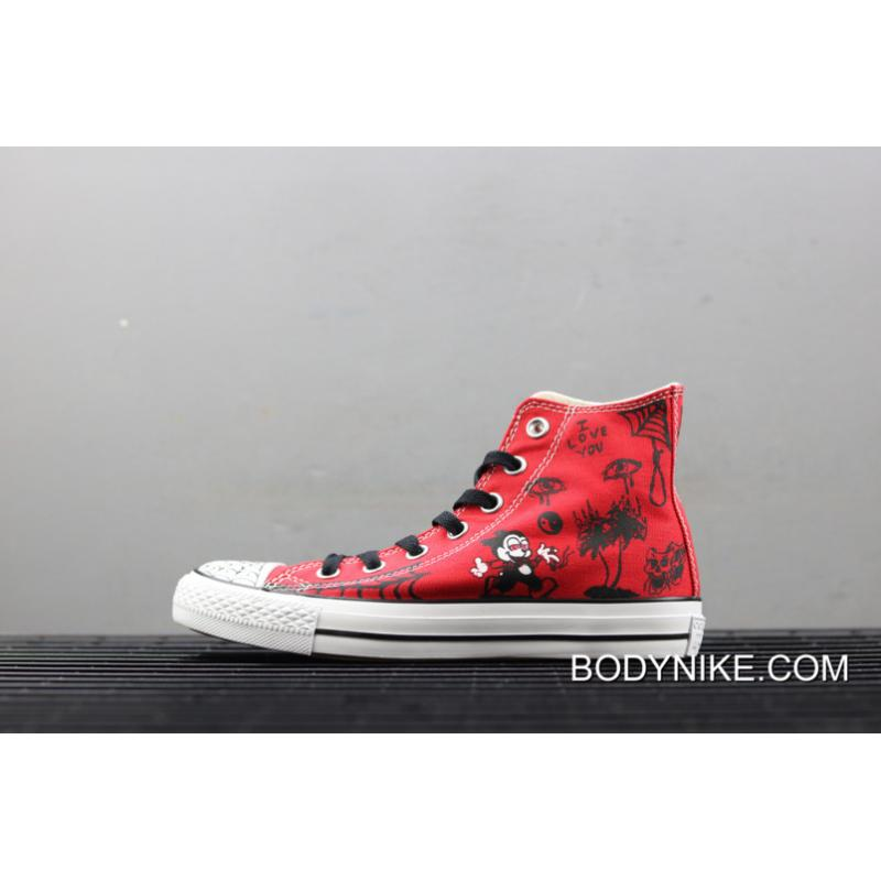 WomenMen New Year Deals Sean Pablo X Converse CONS Chuck Taylor All Star Pro Red