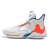 huge discount 0fdf0 b7566 Jordan Why Not Zer0.2  OKC Home  White Total Crimson-Blue