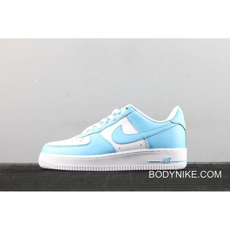 sufrir en progreso pesado  Discount Nike Air Force 1 Low Blue Gale/White, Price: $71.45 - Nike Air  Jordan Shoes Store - bodynike.com