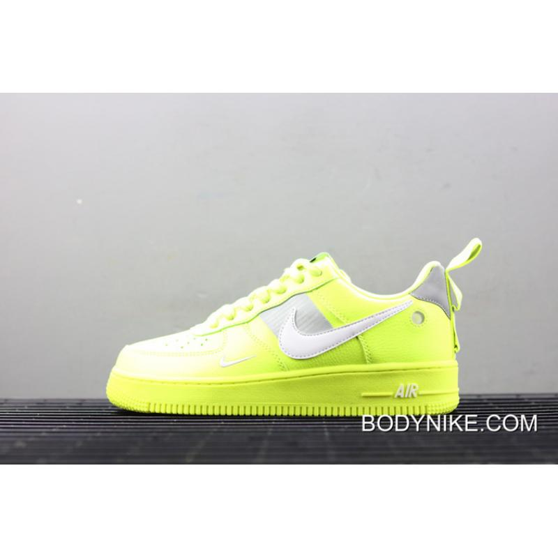 f7bb146eee7e8 Women/Men Top Deals Nike Air Force 1 07 LV8 Utility Volt, Price ...