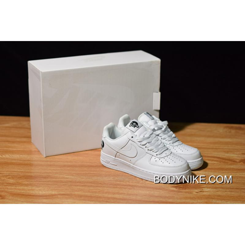 "WomenMen Online Nike Air Force 1 '07 ""Roc A Fella"" Triple White"
