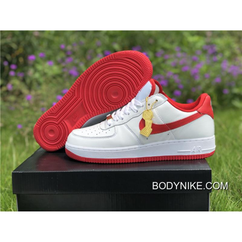 WomenMen New Release Nike Air Force 1 Low Retro 'CT16' Summit WhiteUniversity Red