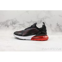 the best attitude b1fba 005a5 Nike Air Max 270 Oil Grey Habanero Red Free Shipping
