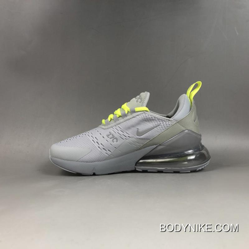 Authentic Nike Air Max 270 Wolf Grey Volt CD7337 001, Price