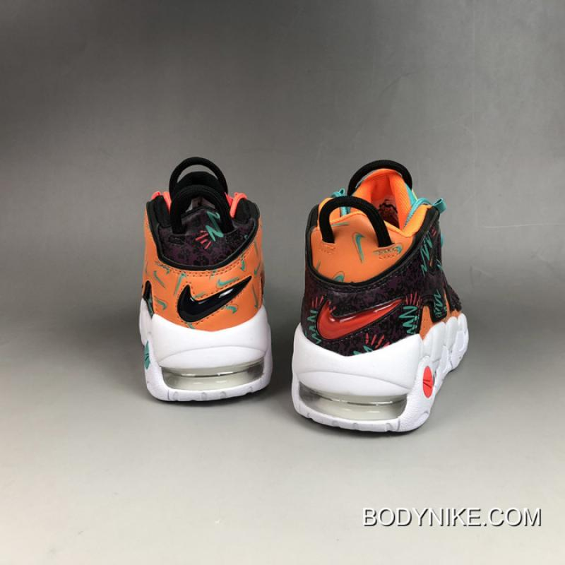 """best cheap 18810 25c2a Women Nike Air More Uptempo GS """"What The 90s"""" Super Deals, Price ..."""