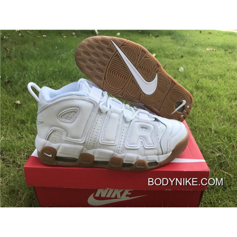 """Discount Nike Air More Uptempo """"White"""