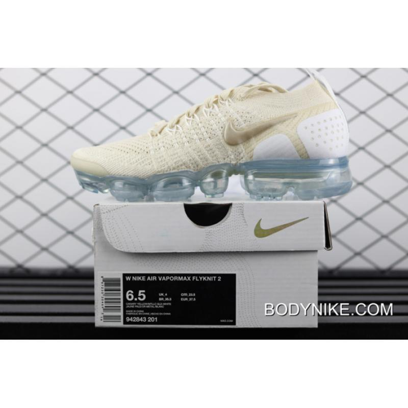 29cc326cd ... Free Shipping Nike Air VaporMax 2.0  Light Cream  For Women ...