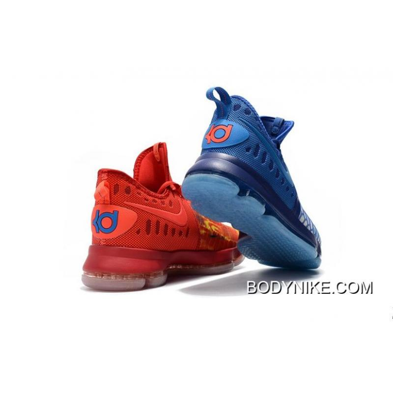 Nike KD 9 'Fire & Ice' Blue Red