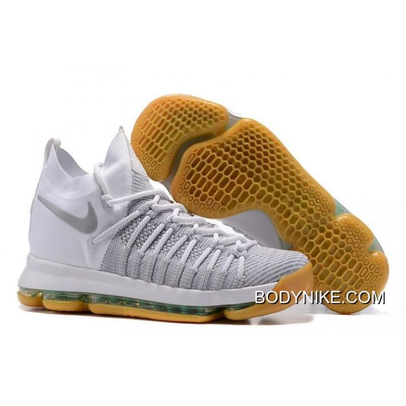 Authentic Nike KD 9 Elite Ivory/Pale