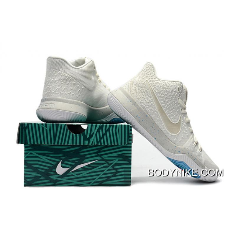 best service 16042 714ae Nike Kyrie 3 Ivory/Pale Grey-Light Bone Best