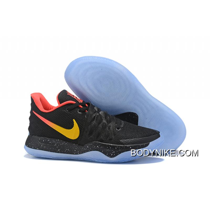 premium selection f06bd 67df5 New Style Nike Kyrie Low Black Red Yellow PE