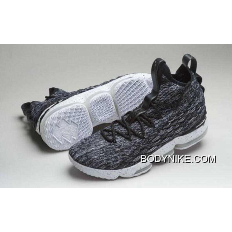 "info for 02542 38a9d Nike LeBron 15 ""Ashes"" Black/White-White Online"