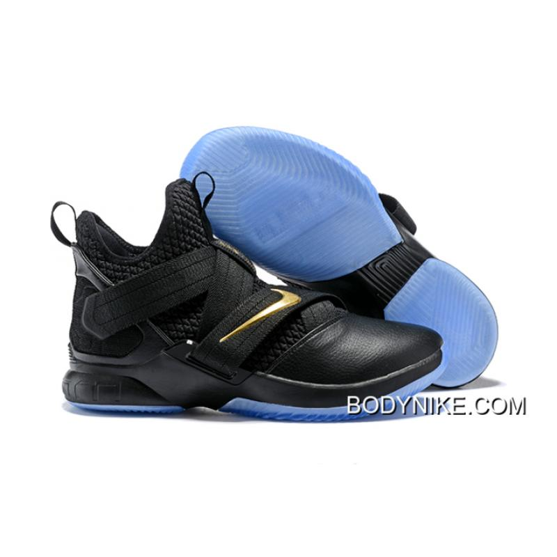 cheap for discount eb45c 59143 Nike LeBron Soldier 12 Black Ice Latest