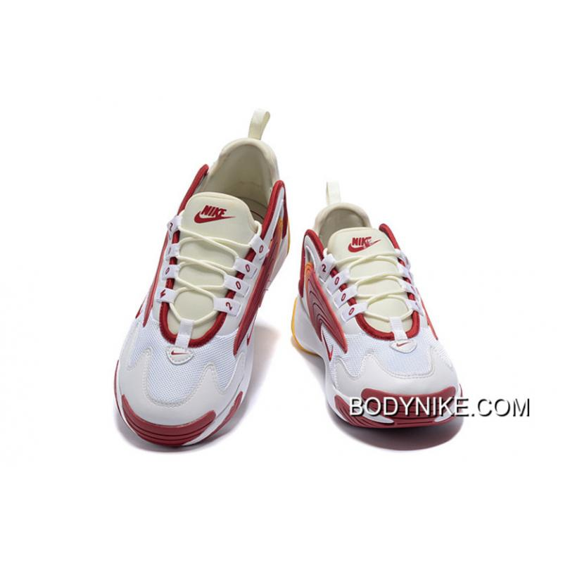 Online Nike Zoom 2K White/Red-Yellow