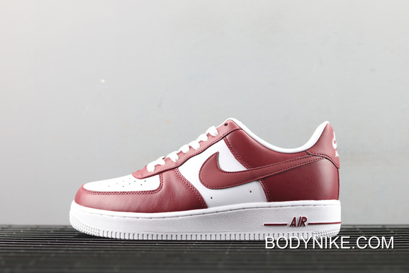 uk availability 713e4 ba62a Nike Air Force 1 Low Red White New Year Deals