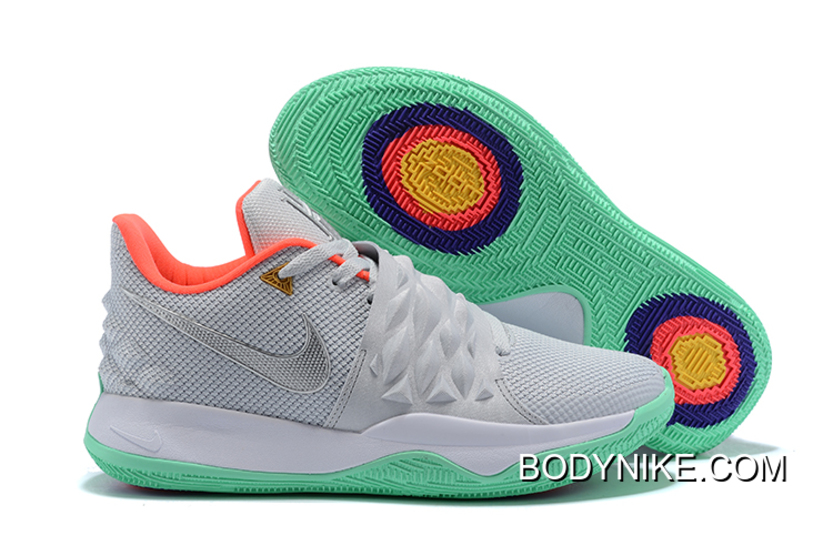 the latest 93e57 10800 Nike Kyrie Low Wolf Grey/Silver-MultiColor Big Deals
