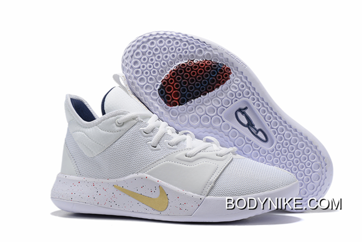 white gold pg3 Kevin Durant shoes on sale